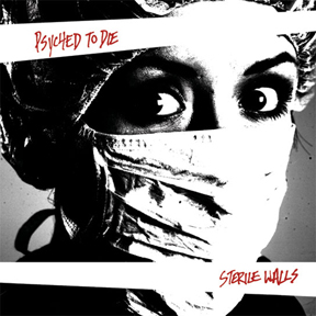"FR16: Psyched To Die - Sterile Walls 7"" (BLACK)"